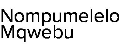 Nompumelelo Mqwebu
